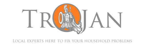 Trojan logo – local experts here to fix your household problems